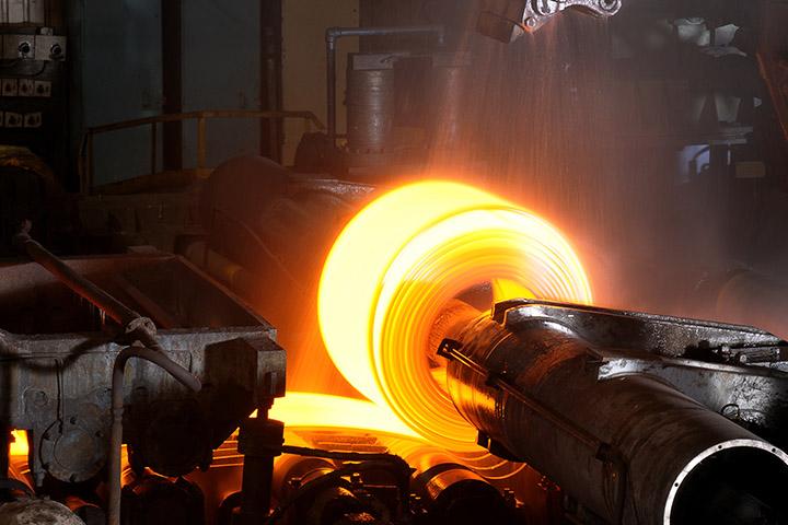 Hot Steel Roll